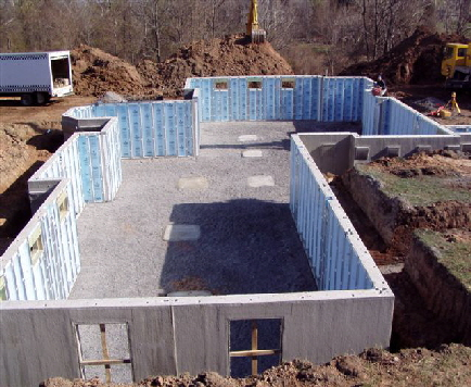 Pre cast concrete walls installed by hy tech concrete for Superior wall system